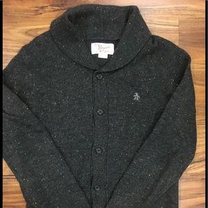 Men's Original Penguin shawl cardigan sweater